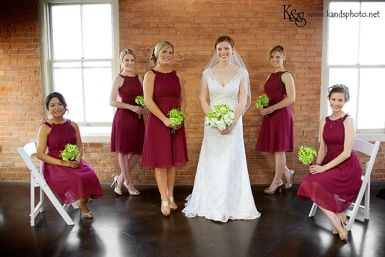 Dallas Wedding Photographers, K & S Photography, photographed Chris and Chelsea- Dallas Wedding at the Filter Building