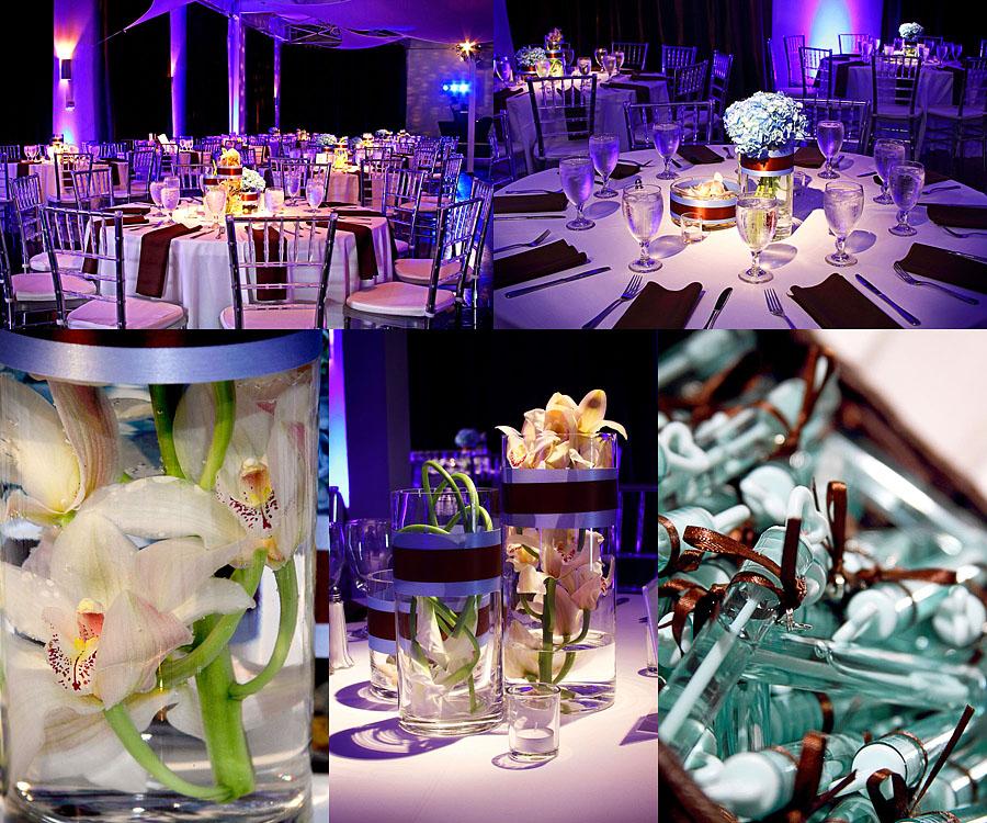 Adam And Stephanie Dallas Wedding Reception At Marc Events