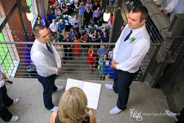 Off The Grid Commitment Ceremony | Dallas Wedding Photographers - K & S Photography