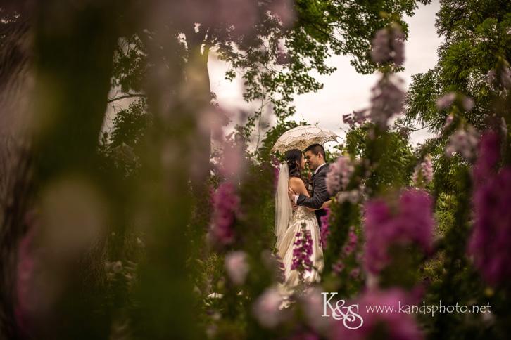 creative dallas arboretum wedding photography