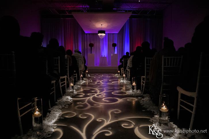 wedding at eM the Venue in Dallas in the Design District