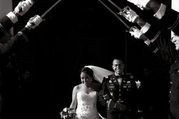 Dallas Military Wedding Photos