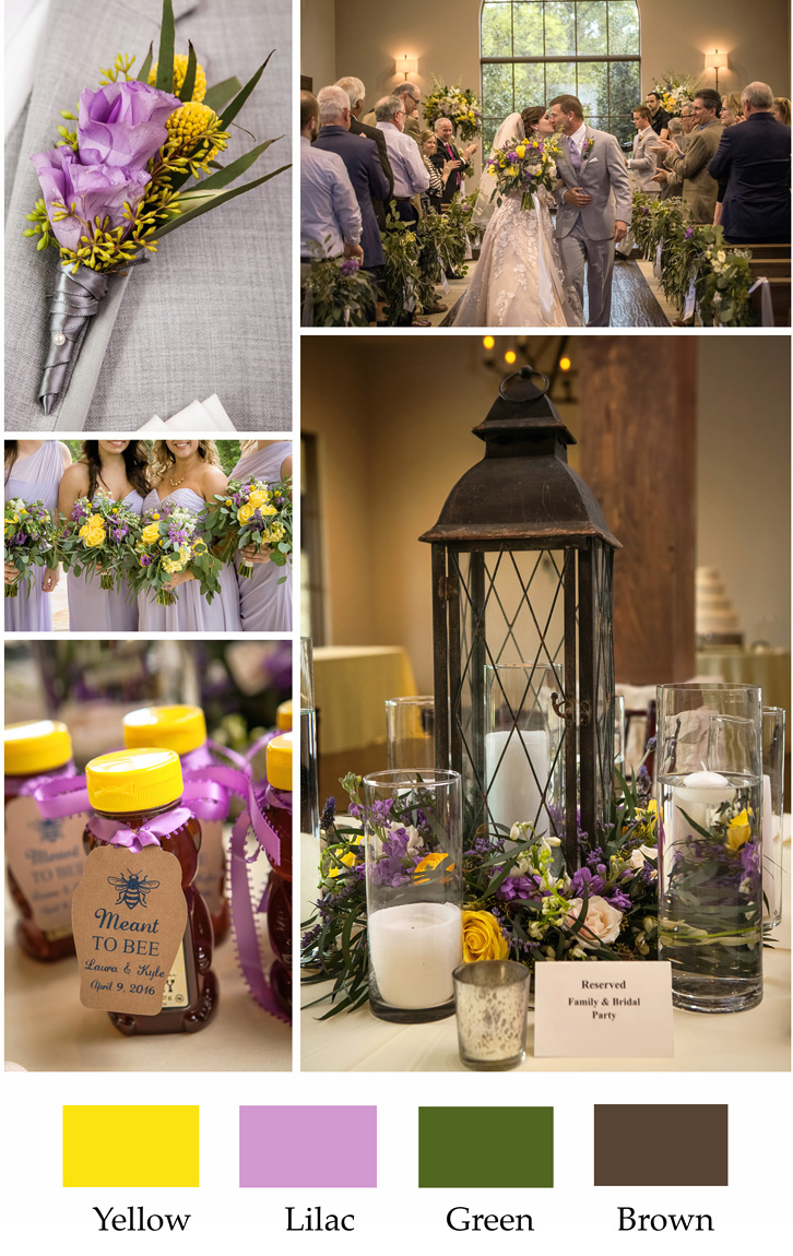 dallas wedding color ideas