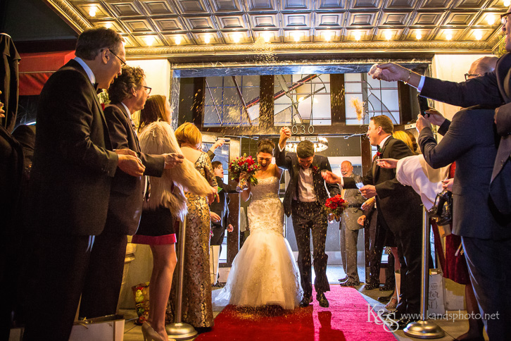 wedding at room on main dallas