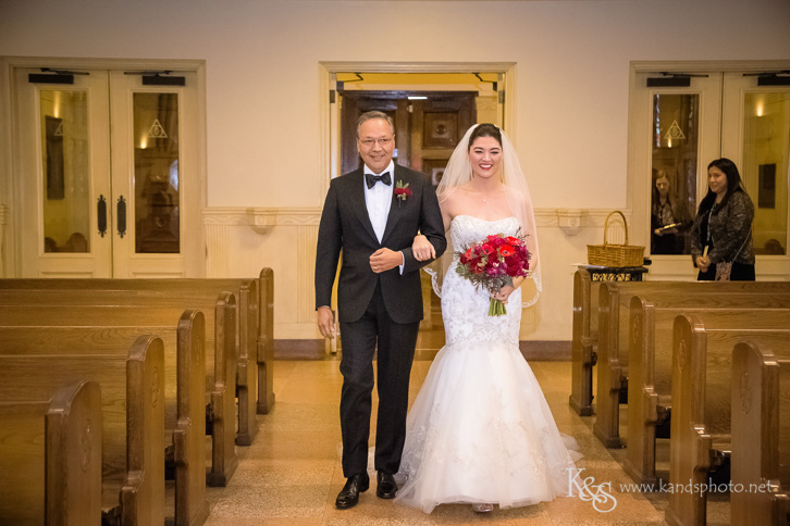 wedding at holy trinity catholic church dallas