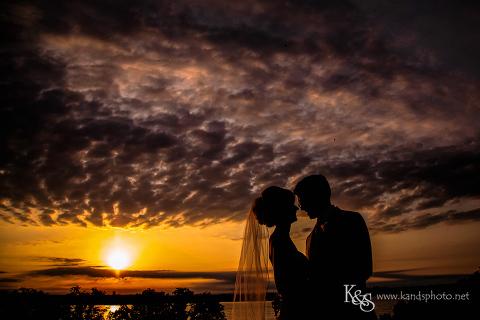 wedding at dallas arboretum