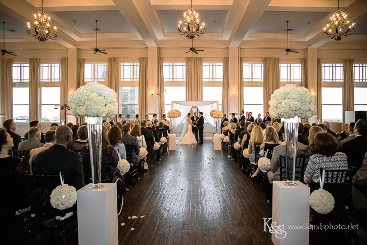 the room on main wedding ceremony
