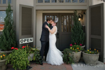gather mckinney downtown wedding