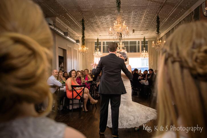 gather mckinney downtown wedding